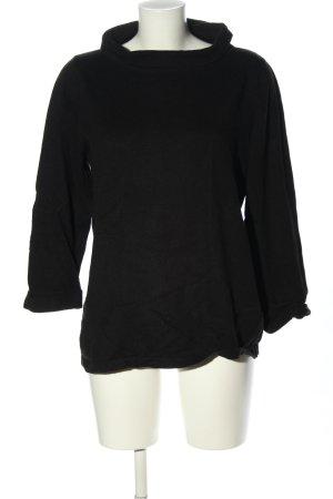 Boden Sweter z golfem czarny W stylu casual