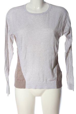 Boden Maglione girocollo grigio chiaro-bronzo puntinato stile casual