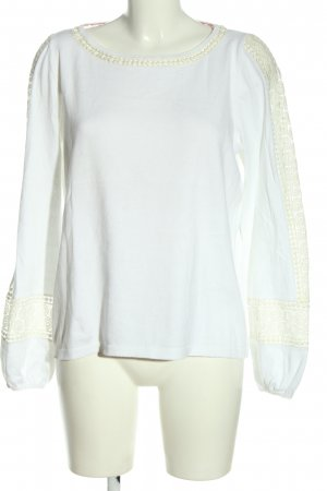 Boden Crewneck Sweater white business style