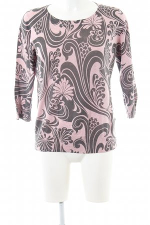 Boden Crewneck Sweater pink-black allover print casual look