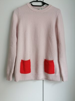 Boden S 36 rosa Pullover Strickpullover Wolle Kaschmir