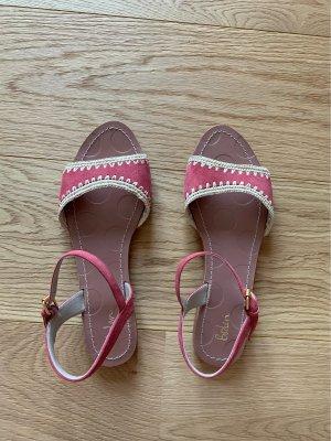 Boden Sandalen met bandjes framboosrood-roze