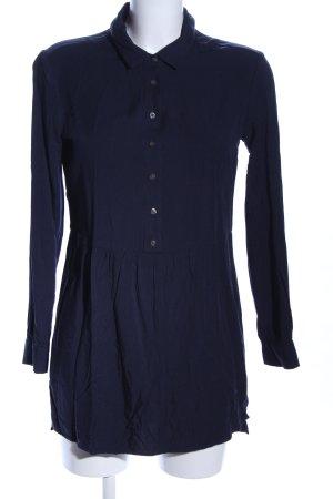 Boden Schlupf-Bluse blau Casual-Look