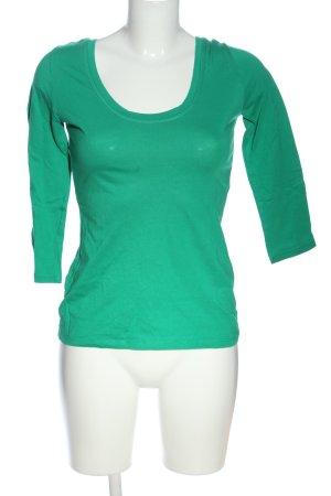 Boden Schlupf-Bluse grün Casual-Look