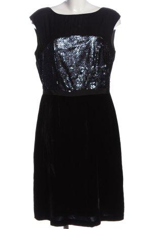 Boden schulterfreies Kleid schwarz Casual-Look