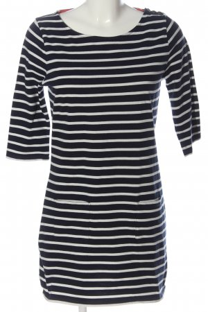 Boden Shirt Dress black-white striped pattern casual look