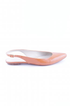 Boden Slingback Ballerinas light orange business style