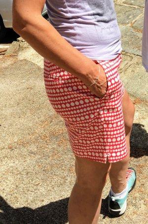 Boden Sommer Shorts Richmond rot/weiss Größe S/38 UK 12 mittlere Länge