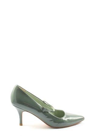 Boden Spitz-Pumps grün Casual-Look