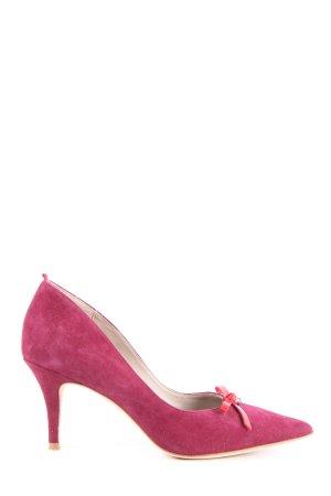 Boden Spitz-Pumps pink Elegant