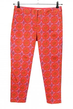 Boden Stoffhose Allover-Druck Casual-Look