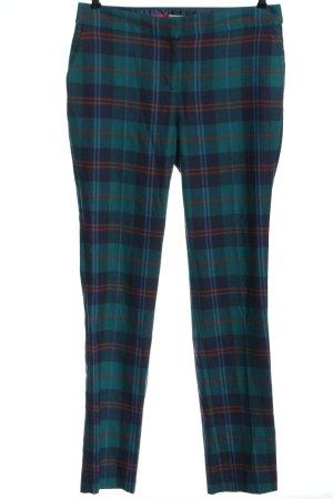 Boden Pantalone jersey motivo a quadri stile casual