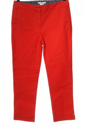 Boden Stoffhose rot Casual-Look