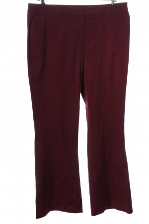Boden Stoffhose rot Business-Look