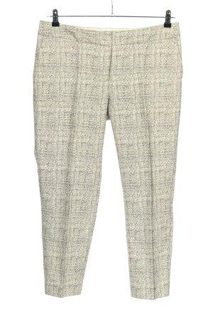 Boden Spodnie materiałowe kremowy-czarny Melanżowy W stylu casual