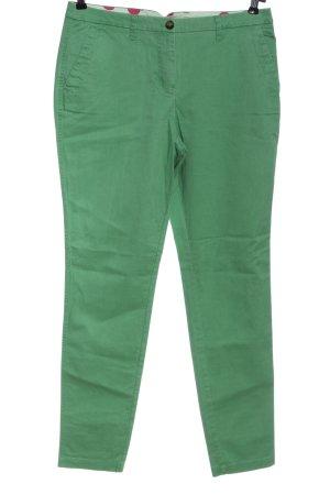 Boden Stoffhose grün Casual-Look