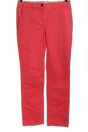 Boden Jeansy z prostymi nogawkami czerwony W stylu casual