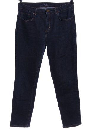 Boden Straight-Leg Jeans blau Casual-Look