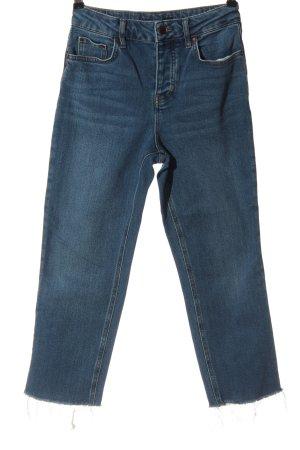 Boden Jeans met rechte pijpen blauw casual uitstraling