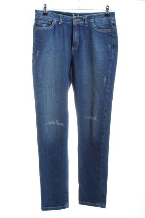 Boden Jeansy z prostymi nogawkami niebieski Wygląd w stylu miejskim