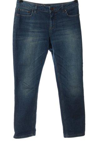 Boden Jeansy z prostymi nogawkami niebieski W stylu casual