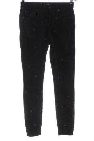 Boden Pantalón elástico negro-azul estampado repetido sobre toda la superficie