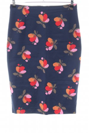 Boden Stretch Skirt flower pattern casual look