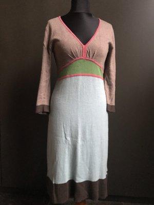 Boden Vestido corte imperio multicolor tejido mezclado