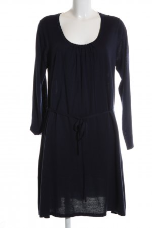 Boden Gebreide jurk zwart casual uitstraling