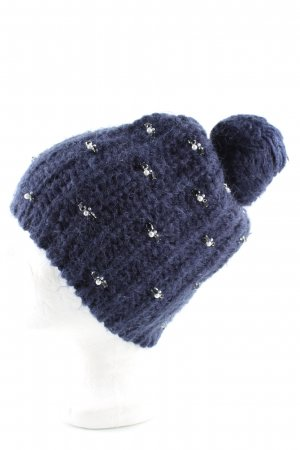 Boden Knitted Hat blue casual look