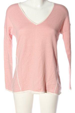 Boden Pull tricoté rose style décontracté
