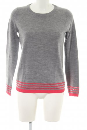 Boden Knitted Sweater light grey-pink flecked casual look