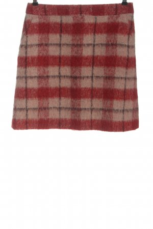 Boden Knitted Skirt check pattern casual look