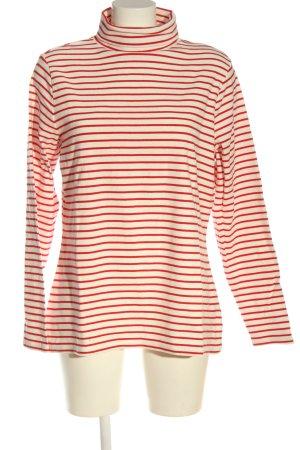 Boden Koszulka z dzianiny w kolorze białej wełny-czerwony W stylu casual