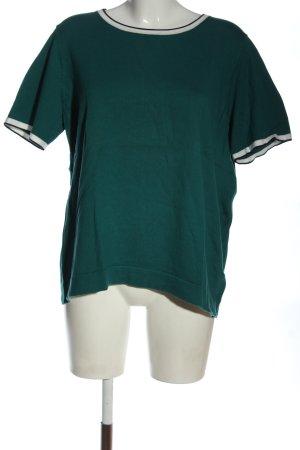 Boden Strickshirt grün Casual-Look