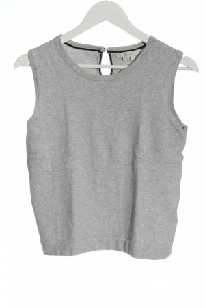 Boden Knitted Top light grey flecked casual look