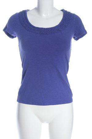 Boden T-shirt bleu style décontracté