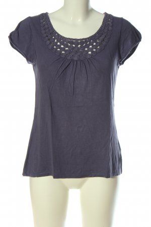 Boden T-Shirt lila Casual-Look