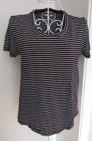 Boden T-Shirt white-black