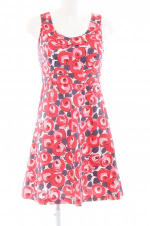 Boden Pinafore dress flower pattern casual look