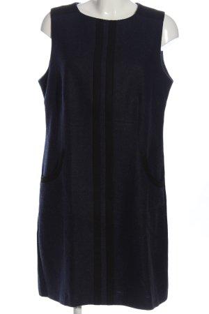 Boden Wełniana sukienka niebieski-czarny W stylu casual