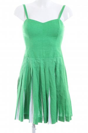 Boden Pinafore dress green-white elegant