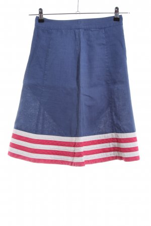Boden Tulip Skirt striped pattern casual look