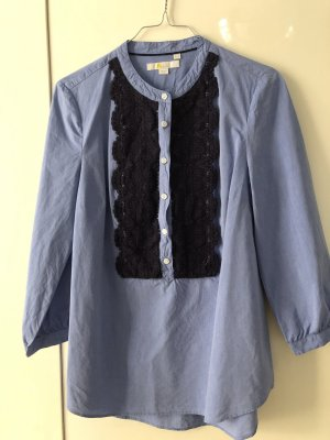 Boden Tunic Blouse dark blue-azure