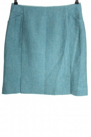 Boden Tweed Skirt blue flecked casual look