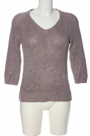 Boden Sweter z dekoltem w kształcie litery V różowy W stylu casual