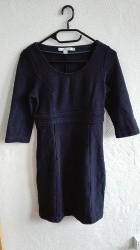 Boden Sweat Dress blue cotton