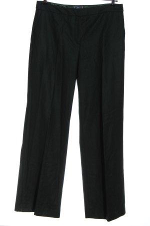 Boden Pantalone di lana verde-nero puntinato stile professionale