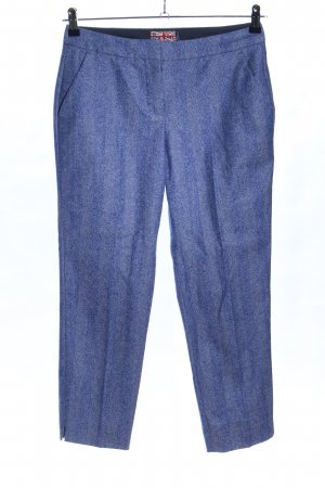 Boden Wollhose blau meliert Casual-Look