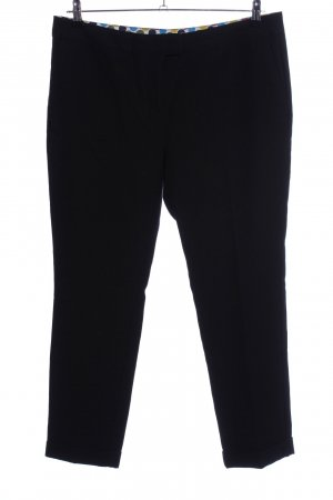 Boden Woolen Trousers black business style